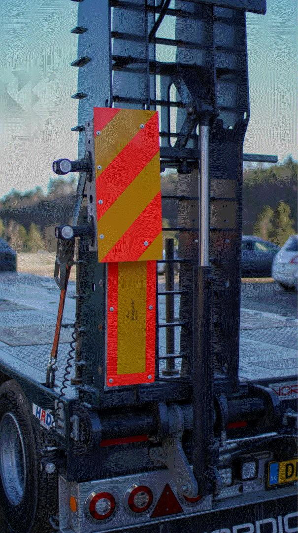 baksiden til TMH firmabil